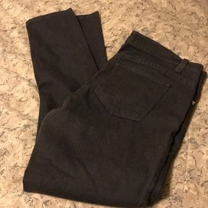 Charcoal gray/black  jeans